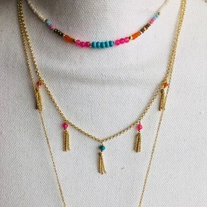 Neiman Marcus Tiered Necklace - NWT